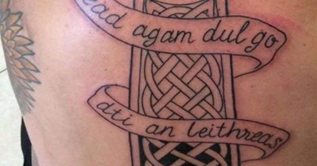 Pic: Is that Irish tattoo image doing the rounds real or fake?