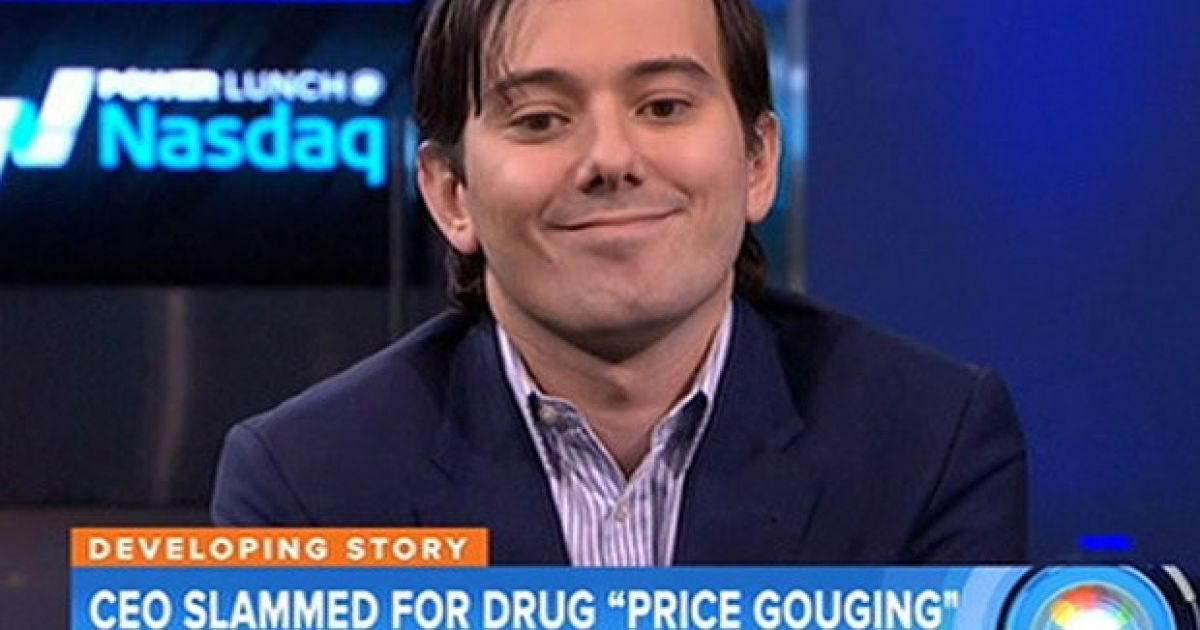 There is an auction taking place where the lucky winner gets to punch  Martin Shkreli in the face