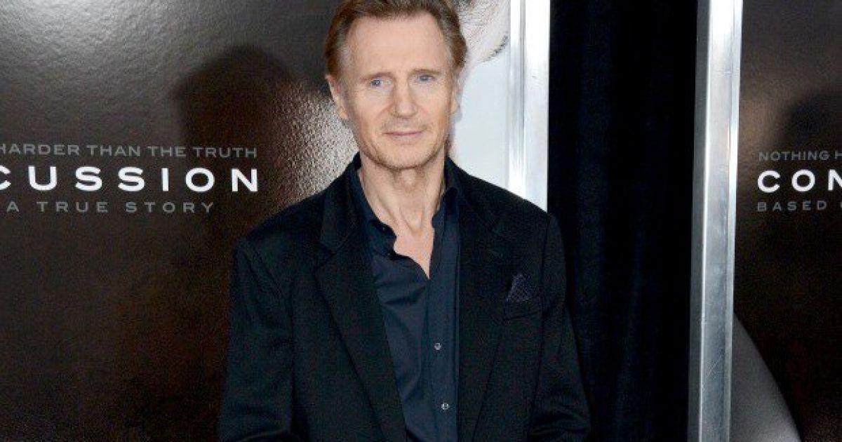 Liam Neeson addresses those 'stupid' Kristen Stewart rumours