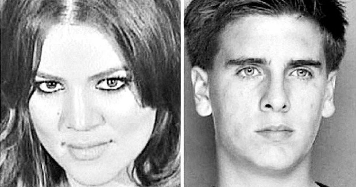 Khloe Kardashian posts mugshots of her and Scott Disick because DUI