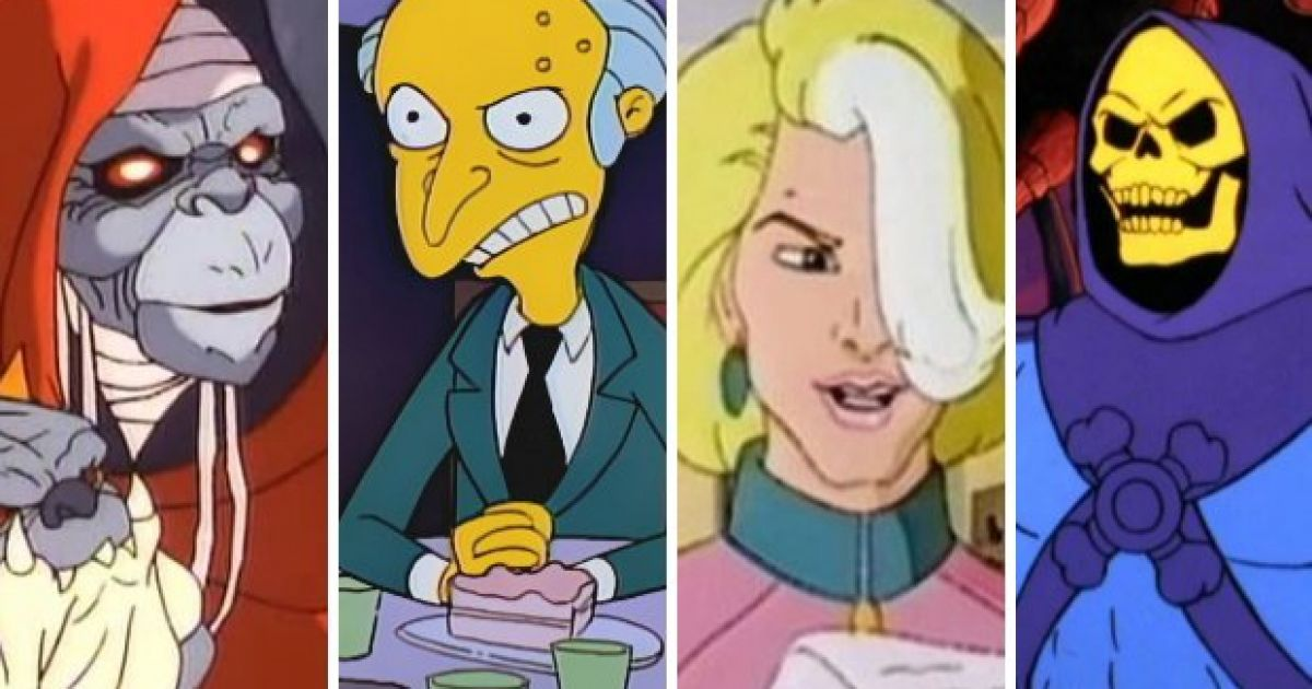 Top 10 Cartoon Villains From The 80s And 90s