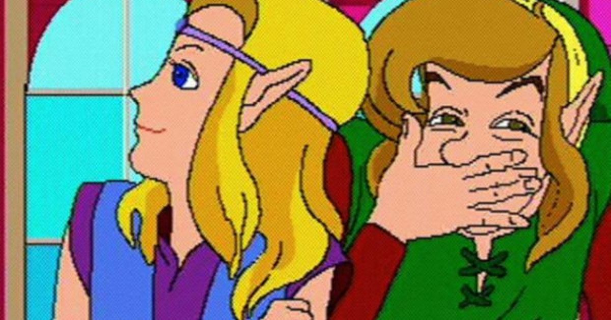 The weird cutscenes from the Zelda CD-i games have been remade in 3D