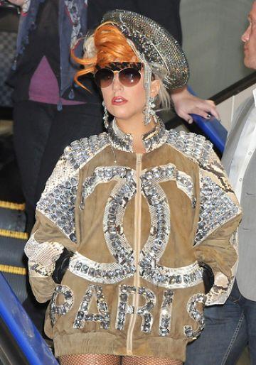 Lady Gaga arrives in Tokyo