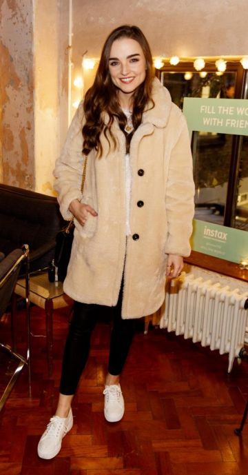 Niamh O'Sullivan pictured at the instax Christmas party that showcased the perfect selection of must-have gifts. Picture Andres Poveda