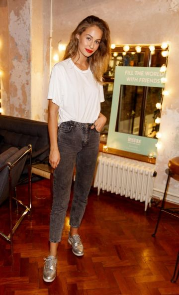 Thalia Heffernan pictured at the instax Christmas party that showcased the perfect selection of must-have gifts. Picture Andres Poveda