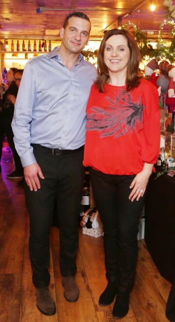 Pictured at the Amazing Aldi Christmas Showcase 2018 is Andrew Rudd and  Ruth Scott  Photo: Leon Farrell/Photocall Ireland