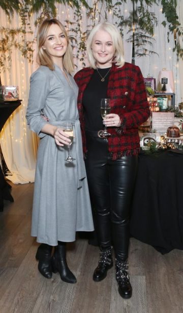 Pictured at the Amazing Aldi Christmas Showcase 2018 is Caroline Foran and Lorna Weightman Photo: Leon Farrell/Photocall Ireland.