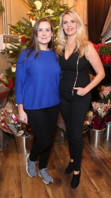 Pictured at the Amazing Aldi Christmas Showcase 2018 is Melaine May and Jules Mahon Photo: Leon Farrell/Photocall Ireland
