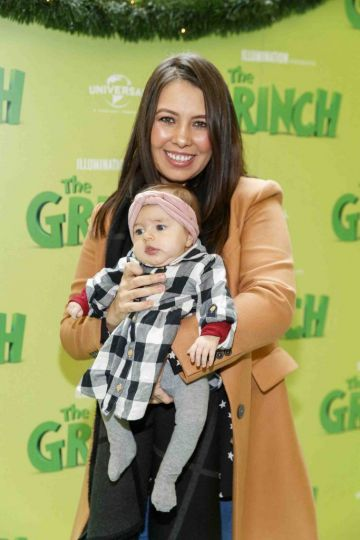 Annabelle (5mths) and Ursulla Walsh pictured at the Irish premiere screening of The Grinch at ODEON Point Village, Dublin. Picture Andres Poveda