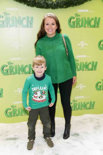 Alfie (7) and Ann Reid pictured at the Irish premiere screening of The Grinch at ODEON Point Village, Dublin. Picture Andres Poveda