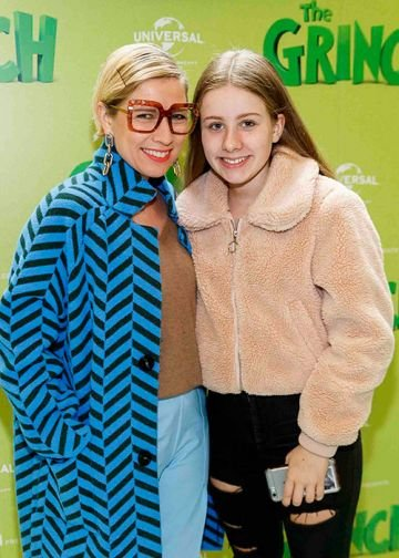 The Irish premiere screening of The Grinch at ODEON Point Village, Dublin. Picture Andres Poveda