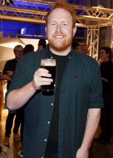 STOUT OF THIS WORLD Gavin James pictured on International Stout Day as Guinness celebrated innovation in brewing with a future of stout summit.    Guinness together with guest brewers and a host of experts from around the world, celebrated bravery in brewing by hosting a Future of Stout Summit, focused on stout innovation and the opportunities in brewing this unique style of beer.   At the summit, Guinness announced that its brewers are set to work on a feasibility study, which will investigate the viability of brewing a Guinness fit to be enjoyed in space. Through further research, innovation and experimentation, Guinness will draw on over 259 years of experience in the hope of making a breakthrough.     Hosted in the Open Gate Brewery, the home of beer innovation and experimentation at Guinness, the stout summit was attended by a team of brewers from the St. James's Gate Brewery in Dublin and other brewers from around the world including the UK, the Netherlands, Korea as well as brewers from all over Ireland. Inspiration at the summit was also delivered by Dr. Norah Patten, who is set to be the first Irish person to travel into space, Kitchen's Theory's Chef, Jozef Youssef and Oxford University Gastrophysics Professor, Charles Spence, who together are on a continuous odyssey to research and demystify the field of gastronomy, and Erin Peters, the beer writer behind International Stout Day. Picture Andres Poveda More information can be found at www.guinness.com   Enjoy Guinness Sensibly. Visit www.drinkaware.ie.