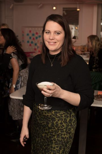 Corina Gaffey pictured at the launch of Lily O'Brien's 'Share Wisely' bags. Photo: Anthony Woods