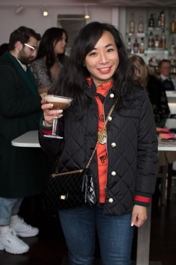 Ella De Guzman pictured at the launch of Lily O'Brien's 'Share Wisely' bags. Photo: Anthony Woods