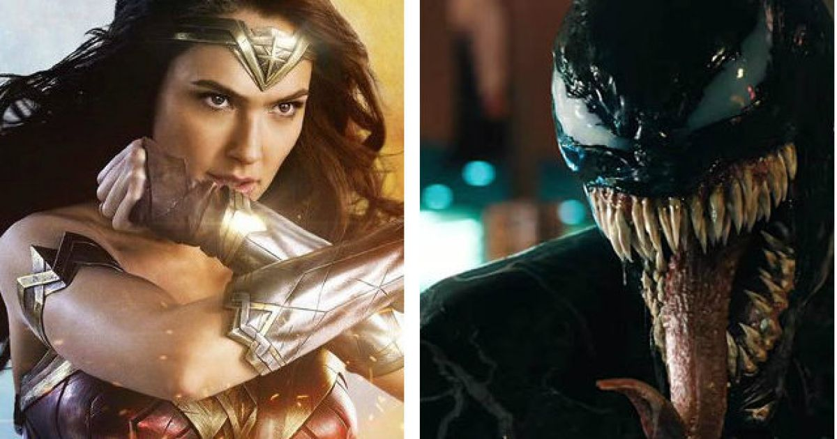 deep breath* 'Venom' has surpassed 'Wonder Woman' at the box