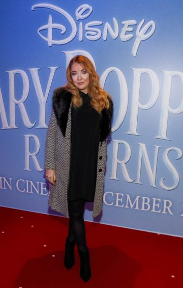 """Ciamh McCrory pictured at a special preview screening of Disney's """"Mary Poppins Returns,"""" in the Light House cinema Dublin. Picture Andres Poveda"""
