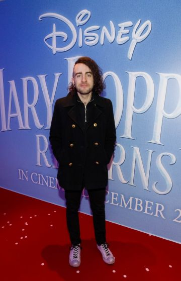 """Davey Reilly pictured at a special preview screening of Disney's """"Mary Poppins Returns,"""" in the Light House cinema Dublin. Picture Andres Poveda"""