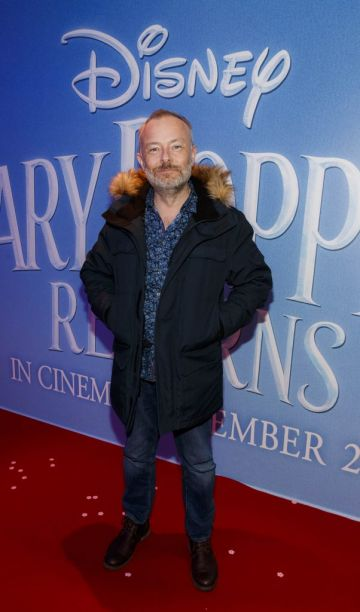 """Rick O'Shea pictured at a special preview screening of Disney's """"Mary Poppins Returns,"""" in the Light House cinema Dublin. Picture Andres Poveda"""