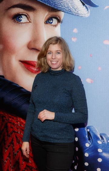 """Lesley Conroy pictured at a special preview screening of Disney's """"Mary Poppins Returns,"""" in the Light House cinema Dublin. Picture Andres Poveda"""