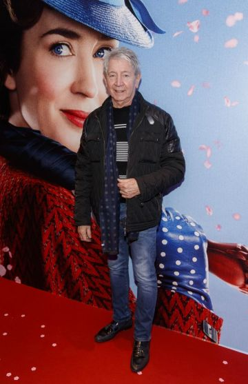 """Gary Kavanagh pictured at a special preview screening of Disney's """"Mary Poppins Returns,"""" in the Light House cinema Dublin. Picture Andres Poveda"""