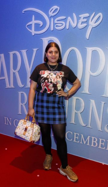 """Tara Stewart pictured at a special preview screening of Disney's """"Mary Poppins Returns,"""" in the Light House cinema Dublin. Picture Andres Poveda"""