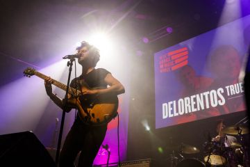 Delorentos pictured at the RTÉ Choice Music Prize Live Event in Vicar Street, Dublin.
