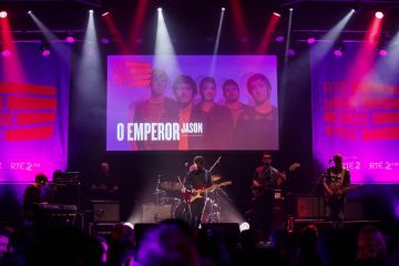 O Emperor pictured performing at the RTÉ Choice Music Prize Live Event in Vicar Street, Dublin.
