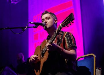 Conor O'Brien of Villagers pictured at the RTÉ Choice Music Prize Live Event in Vicar Street, Dublin.