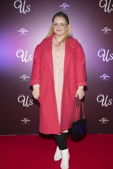 Louise McSharry pictured at an exclusive first look of Jordan Peele's Us at The Stella Theatre, Ranelagh. Photo: Anthony Woods.