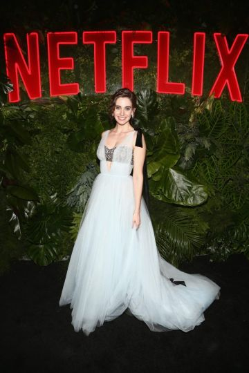 Alison Brie attends the Netflix 2019 Golden Globes After Party on January 6, 2019 in Los Angeles, California.  (Photo by Tommaso Boddi/Getty Images for Netflix)