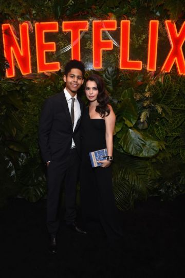 Rhenzy Feliz (L) and Isabella Gomez attend the Netflix 2019 Golden Globes After Party on January 6, 2019 in Los Angeles, California.  (Photo by Tommaso Boddi/Getty Images for Netflix)