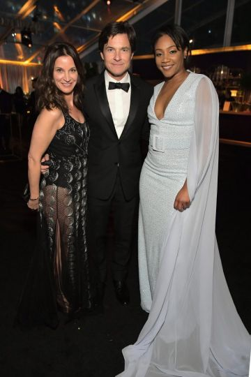 Amanda Anka, Jason Bateman and Tiffany Hadish attends the Netflix 2019 Golden Globes After Party on January 6, 2019 in Los Angeles, California.  (Photo by Charley Gallay/Getty Images for Netflix)