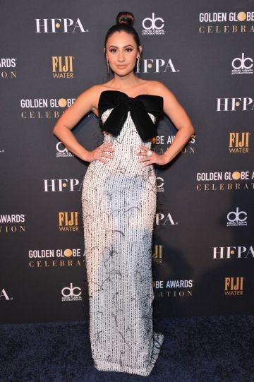 Francia Raisa attends the official viewing and after party of The Golden Globe Awards hosted by The Hollywood Foreign Press Association at The Beverly Hilton Hotel on January 6, 2019 in Beverly Hills, California.  (Photo by Rachel Luna/Getty Images)