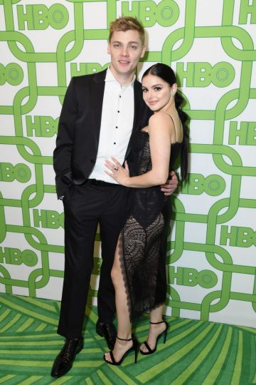 Levi Meaden (L) and Ariel Winter attend HBO's Official Golden Globe Awards After Party at Circa 55 Restaurant on January 6, 2019 in Los Angeles, California.  (Photo by Presley Ann/Getty Images)