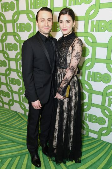 Kieran Culkin (L) and Jazz Charton attend HBO's Official Golden Globe Awards After Party at Circa 55 Restaurant on January 6, 2019 in Los Angeles, California.  (Photo by Presley Ann/Getty Images)