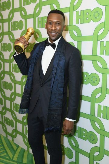 Mahershala Ali attends HBO's Official Golden Globe Awards After Party at Circa 55 Restaurant on January 6, 2019 in Los Angeles, California.  (Photo by Presley Ann/Getty Images)