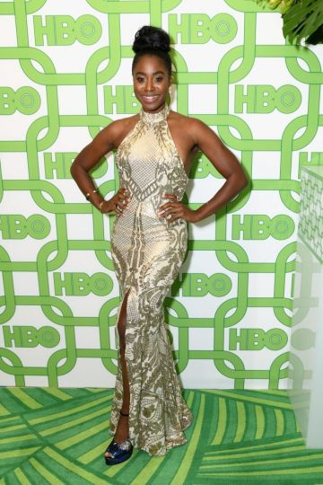 Kirby Howell-Baptiste attends HBO's Official Golden Globe Awards After Party at Circa 55 Restaurant on January 6, 2019 in Los Angeles, California.  (Photo by Presley Ann/Getty Images)