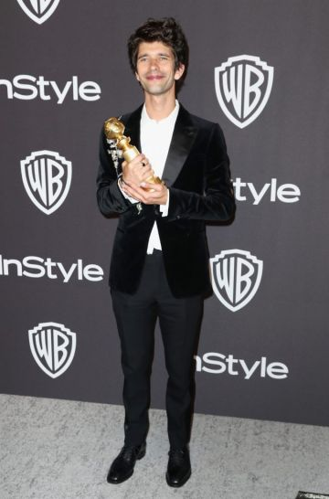 Best Performance by an Actor in a Supporting Role in a Series, Limited Series or Motion Picture Made for Television for 'A Very English Scandal' winner Ben Whishaw attends the InStyle And Warner Bros. Golden Globes After Party 2019 at The Beverly Hilton Hotel on January 6, 2019 in Beverly Hills, California.  (Photo by Rich Fury/Getty Images)