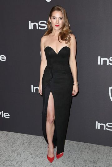 Carly Craig attends the InStyle And Warner Bros. Golden Globes After Party 2019 at The Beverly Hilton Hotel on January 6, 2019 in Beverly Hills, California.  (Photo by Rich Fury/Getty Images)