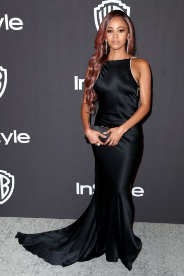 Vanessa Morgan attends the InStyle And Warner Bros. Golden Globes After Party 2019 at The Beverly Hilton Hotel on January 6, 2019 in Beverly Hills, California.  (Photo by Rich Fury/Getty Images)