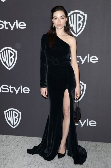 Crystal Reed attends the InStyle And Warner Bros. Golden Globes After Party 2019 at The Beverly Hilton Hotel on January 6, 2019 in Beverly Hills, California.  (Photo by Rich Fury/Getty Images)