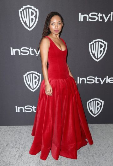 Logan Browning attends the InStyle And Warner Bros. Golden Globes After Party 2019 at The Beverly Hilton Hotel on January 6, 2019 in Beverly Hills, California.  (Photo by Rich Fury/Getty Images)