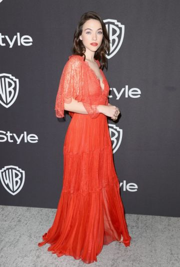 Violett Beanne attends the InStyle And Warner Bros. Golden Globes After Party 2019 at The Beverly Hilton Hotel on January 6, 2019 in Beverly Hills, California.  (Photo by Rich Fury/Getty Images)