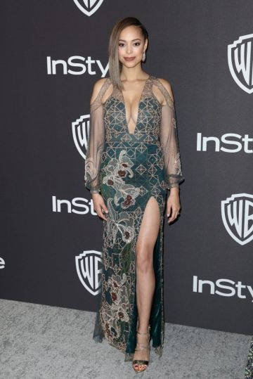 Amber Stevens West attends the InStyle And Warner Bros. Golden Globes After Party 2019 at The Beverly Hilton Hotel on January 6, 2019 in Beverly Hills, California.  (Photo by Rich Fury/Getty Images)