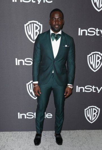 Shamier Anderson attends the InStyle And Warner Bros. Golden Globes After Party 2019 at The Beverly Hilton Hotel on January 6, 2019 in Beverly Hills, California.  (Photo by Rich Fury/Getty Images)