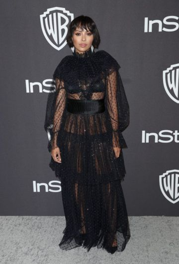 Kat Graham attends the InStyle And Warner Bros. Golden Globes After Party 2019 at The Beverly Hilton Hotel on January 6, 2019 in Beverly Hills, California.  (Photo by Rich Fury/Getty Images)