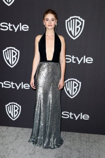 Virginia Gardner attends the InStyle And Warner Bros. Golden Globes After Party 2019 at The Beverly Hilton Hotel on January 6, 2019 in Beverly Hills, California.  (Photo by Rich Fury/Getty Images)
