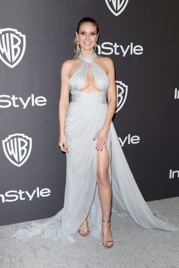 Heidi Klum attends the InStyle And Warner Bros. Golden Globes After Party 2019 at The Beverly Hilton Hotel on January 6, 2019 in Beverly Hills, California.  (Photo by Rich Fury/Getty Images)