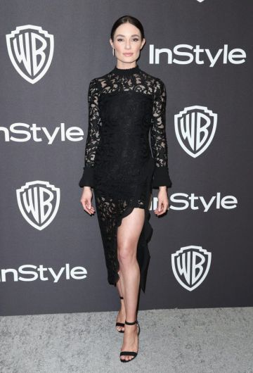 Mallory Jansen attends the InStyle And Warner Bros. Golden Globes After Party 2019 at The Beverly Hilton Hotel on January 6, 2019 in Beverly Hills, California.  (Photo by Rich Fury/Getty Images)