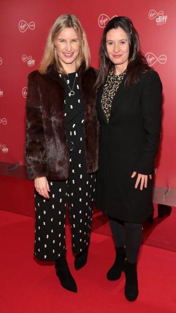 Clare Quinlan and Anna Maria Barry at the Virgin Media Dublin International Film Festival launch at The Lighthouse Cinema, Dublin. Photo: Brian McEvoy
